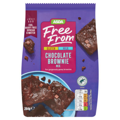 ASDA Free From Chocolate Brownie Mix