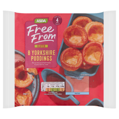 ASDA Free From 8 Yorkshire Puddings