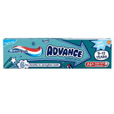 Aquafresh Kids Toothpaste, Advance 9-12 Years