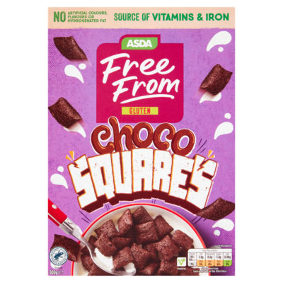 ASDA Free From Choco Squares