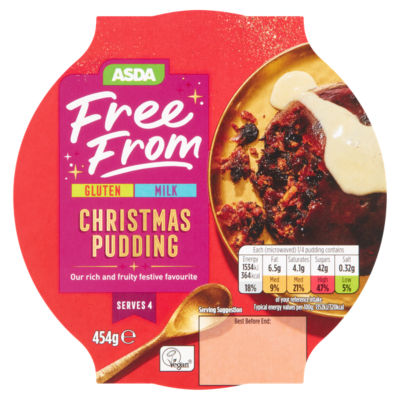 ASDA Free From Christmas Pudding