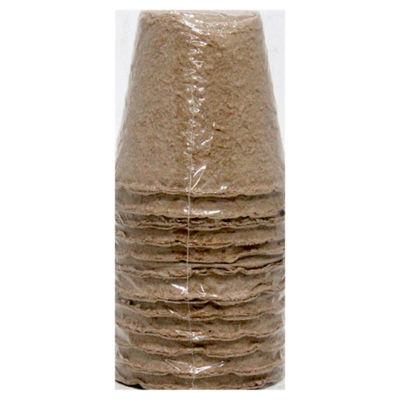 ASDA Bio-Degradable Pots 8cm x 8cm