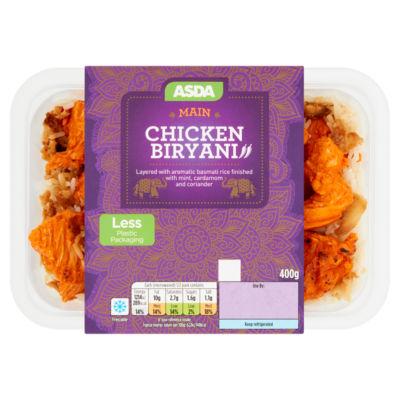 ASDA Chicken Biryani