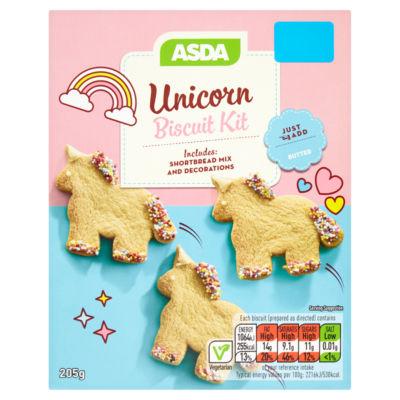 ASDA Unicorn Biscuit Kit