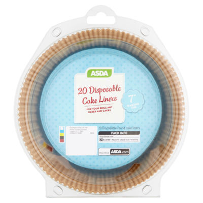 ASDA Disposable Cake Liners
