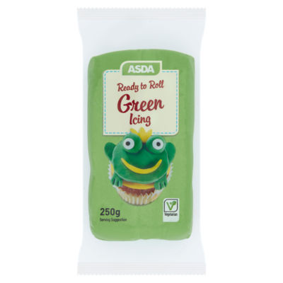 ASDA Ready to Roll Green Icing