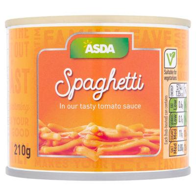 ASDA Spaghetti in Tomato Sauce