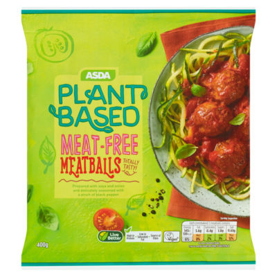 ASDA Plant Based Vegan Meat Free Meatballs