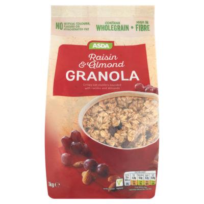 ASDA Raisin & Almond Granola