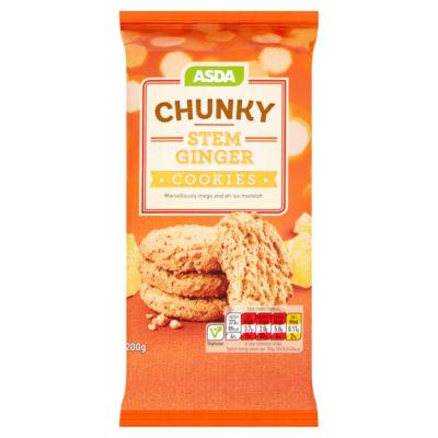 ASDA Chunky Stem Ginger Cookies