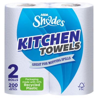 ASDA Shades Kitchen Towels