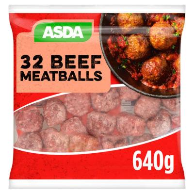 ASDA Beef Meatballs