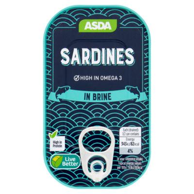 ASDA Sardines in Brine