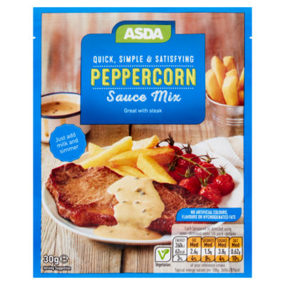ASDA Peppercorn Sauce Mix