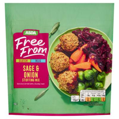 ASDA Free From Sage & Onion Stuffing Mix