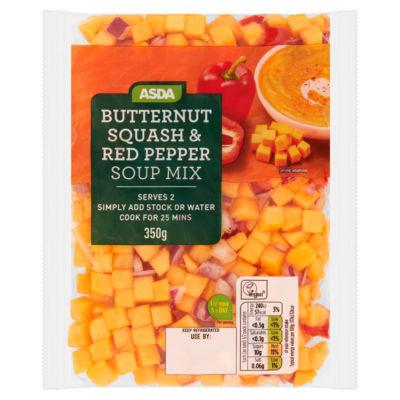 ASDA Butternut Squash & Red Pepper Soup Mix