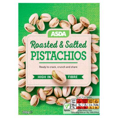 ASDA Roasted & Salted Pistachios