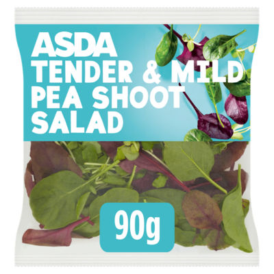 ASDA Mild Pea Shoot Salad