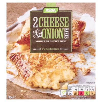 ASDA 2 Cheese & Onion Bakes