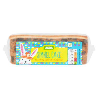 ASDA Simnel Cake