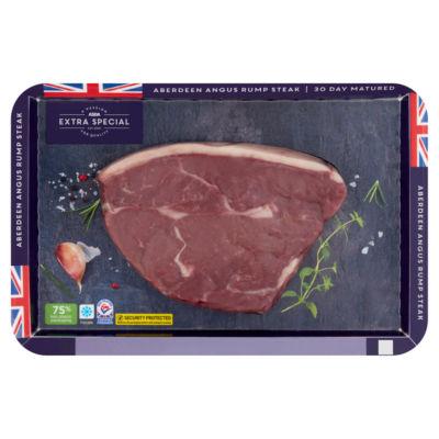 ASDA Extra Special Aberdeen Angus Rump Steak 30 Day Matured