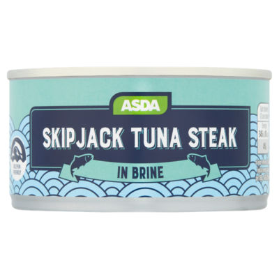 ASDA Skipjack Tuna Steaks in Brine