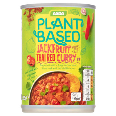 ASDA Plant Based Jackfruit Red Thai Curry