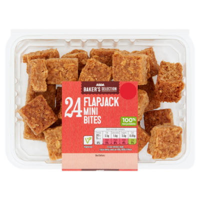 ASDA Baker's Selection 24 Mini Flapjack Bites
