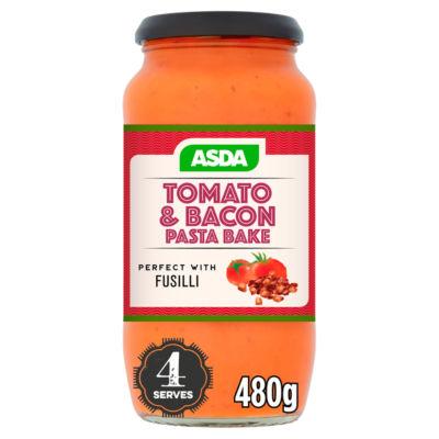 ASDA Tomato and Bacon Pasta Bake