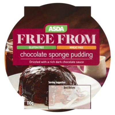ASDA Free From Chocolate Sponge Pudding