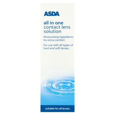 ASDA All in One Contact Lens Solution