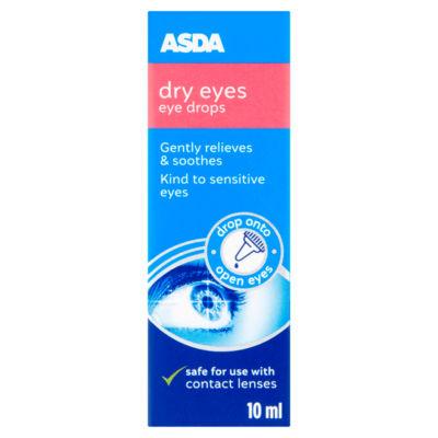 ASDA Dry Eyes Eye Drops