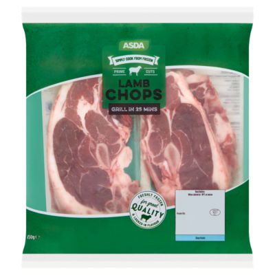 ASDA Prime Cuts Lamb Chops