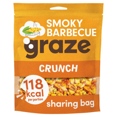 Graze Smoky Barbecue Crunch Sharing Bag