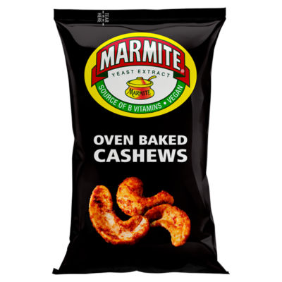Marmite Oven Baked Cashew Nuts