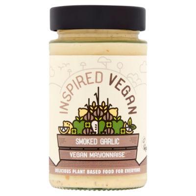Inspired Vegan Smoked Garlic Mayonnaise