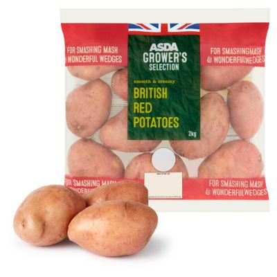 ASDA Grower's Selection British Red Potatoes