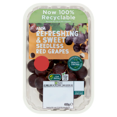 ASDA Grower's Selection Seedless Red Grapes