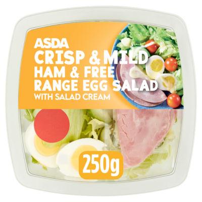 ASDA Good & Balanced Ham & Free Range Egg Salad