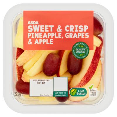 ASDA Pineapple, Grapes & Apple