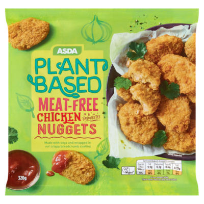 ASDA Plant Based Vegan Meat-Free Chicken Nuggets