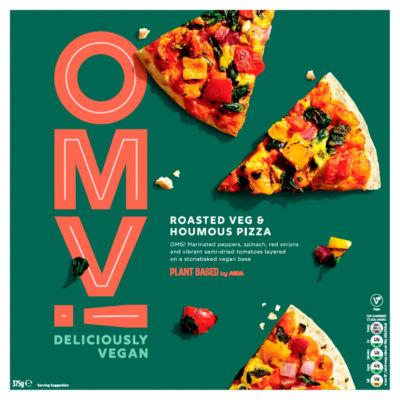 ASDA Plant Based Vegan Roasted Veg & Houmous Pizza