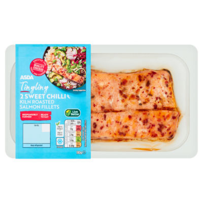 ASDA Kiln Roasted Sweet Chilli Salmon Fillets