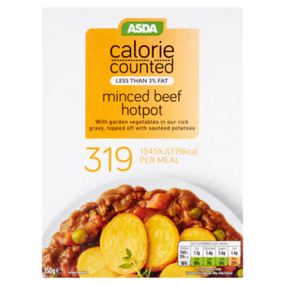 ASDA Calorie Counted Minced Beef Hotpot