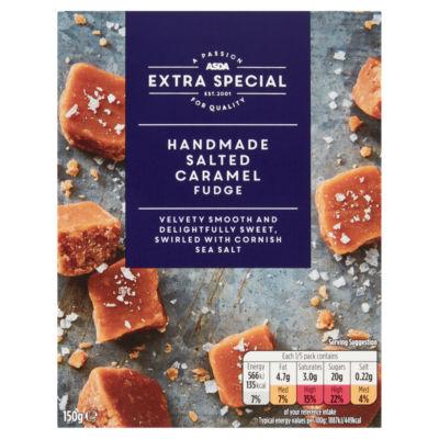 ASDA Extra Special Handmade Salted Caramel Fudge