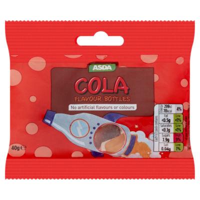 ASDA Cola Flavour Bottles