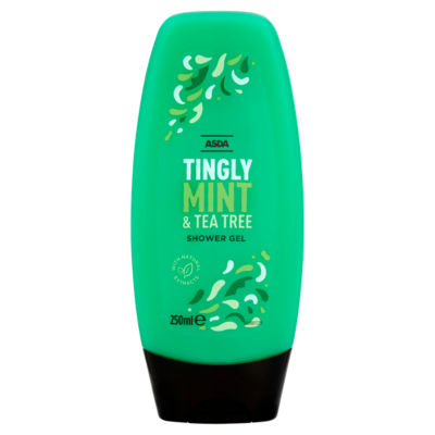 ASDA Tingly Mint & Tea Tree Shower Gel