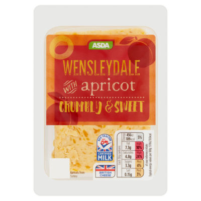 ASDA Wensleydale with Apricot