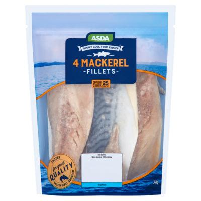 ASDA 4 Mackerel Fillets