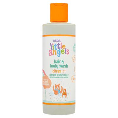 ASDA Little Angels Hair & Body Wash Citrus